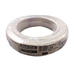 Cordão Paralelo 2x2,50mm 100m Branco - Ref.45631546 - MAXCOPPER
