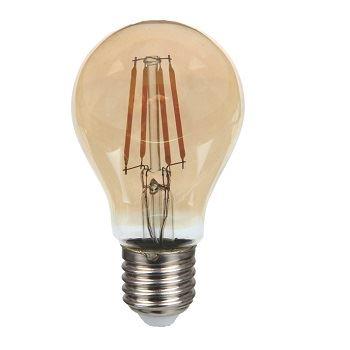 Lâmpada LED 6W Bivolt Filamento Bulbo A60 2200k - Ref. DI70680 - DILUX