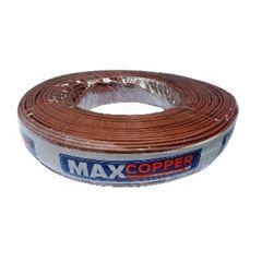 Cordão Paralelo 2x4,0mm 100m Marrom - Ref.456315479 - MAXCOPPER