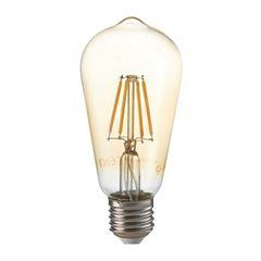 Lâmpada LED 4W Filamento Pêra ST64 2200k Bivolt - Ref. DI70710 - DILUX