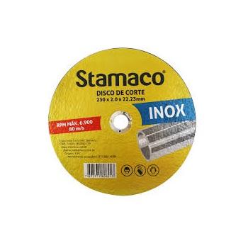 Disco de Corte 230X1,0mm Inox - Ref.6213 - STAMACO
