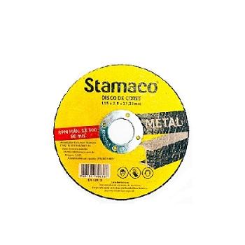 Disco de Corte 115x3,0mm Metal - Ref.6367 -  STAMACO
