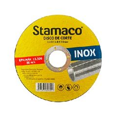 Disco de Corte 115x1,0mm Metal - Ref.6374 -  STAMACO