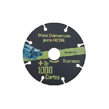 Disco de Corte 115mm 1000 Metal - Ref.6381 - STAMACO