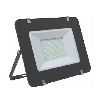 Refletor LED Ultra Slim150W Bivolt Branco Frio 6500K Preto - Ref. DI70772 - DILUX