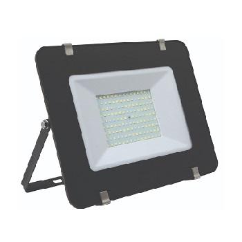 Refletor LED Ultra Slim 200W Bivolt Branco Frio 6500K Preto - Ref. DI70789 - DILUX