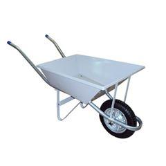 Carro de Mão em Aço Metalforte M20 Completo Cinza - Ref. 00722E - METALOSA