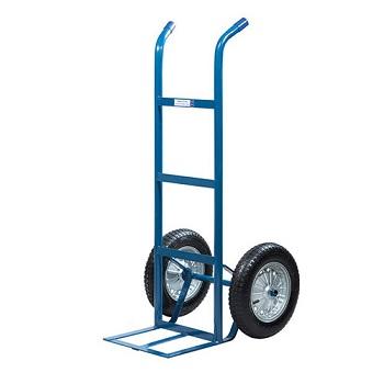 Carro de Carga em Aço 180kg Pneu Maciço 18A Azul - Ref. 00175 - METALOSA