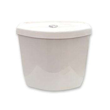 Caixa Acoplada Aruba Branca com Acionamento Duplo 3/6 Litros - Ref. DMR73391 - DIMAR