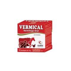 Vermifugo Vermical 10g - Ref.PA0409 - CALBOS