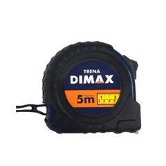 Trena Emborrachada 5mx25mm Bolso Preto - Ref. DMX73353 - DIMAX