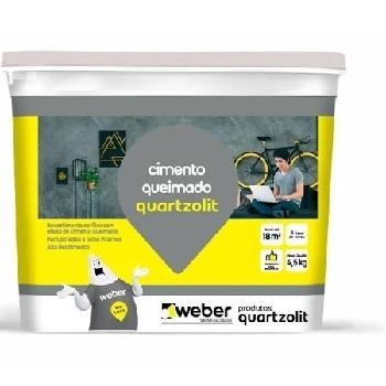 Argamassa Cimento Queimado 4,5KG Cinza Médio - Ref.0541.00109.0001CX - QUARTZOLIT