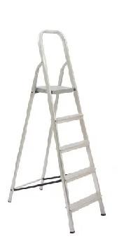 Escada De Alumínio 5 Degraus Tesoura - Ref. 45051 - MAESTRO
