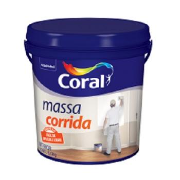 Massa Corrida Galão Plástica 6kg Branco- Ref. 5202611 - CORAL