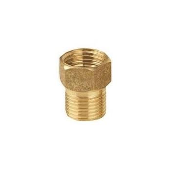 Aumento Para Torneira de Latão 1/2 Polegada Curto 1012 Amarelo Ref. 30000 - BOGNAR