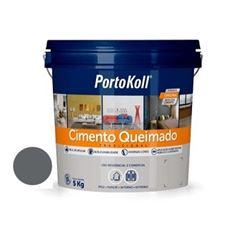 Argamassa Cimento Queimado 5kg Carbono - Ref.96614 - PORTOKOLL