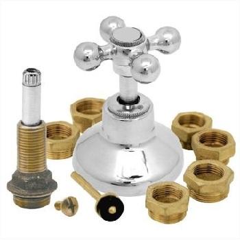 Kit Fácil em Latão Salva Registro Light C33 Cromado - Ref.30697 - BOGNAR