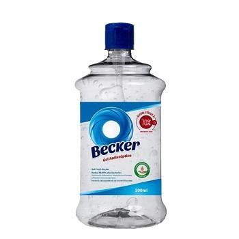 Álcool em Gel 70% 500ml Fresh - Ref.PA0003109 - BECKER