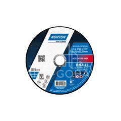 Disco de Corte 4.1/2 Polegadas Inox 2 Telas BNA12 - Ref.66252846557 - NORTON