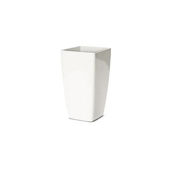 Cachepô Plástico Trapezio Elegance nº 1 Branco - Ref.6101717-02 - NUTRIPLAN