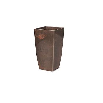 Cachepo Plástico Trapezio Elegance nº 1 Café Imperial - Ref.6101717-18 - NUTRIPLAN