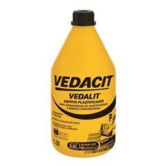 Aditivo Plastificante Argamassa e Chapisco 3,6 Litros Vedalit - Ref.121854 - VEDACIT