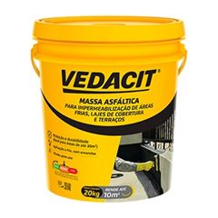 Massa Asfáltica 20kg Impermeabilizante - Ref.112110 - VEDACIT