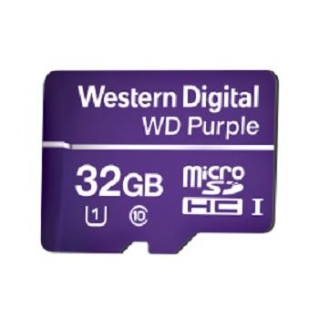 Cartão de Memória para CFTV Micro SD 32GB Purple - Ref. 4600144 - WESTERN DIGITAL