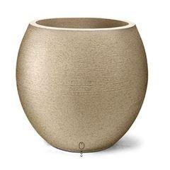Vaso Oval Grafiato Nº 26 Areia - Ref.7300126-19 - NUTRIPLAN
