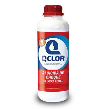 Algicida de Choque para Piscina 1 Litro - Ref.PA010077 - QCLOR