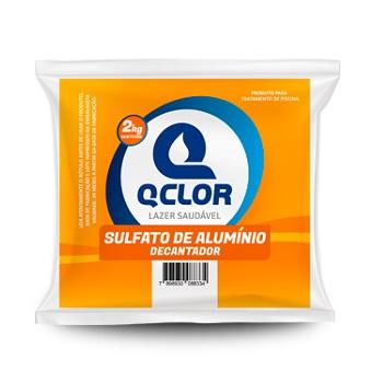 Sulfato de Alumínio para Piscina 2kg Floculante - Ref.PA010087 -  QCLOR