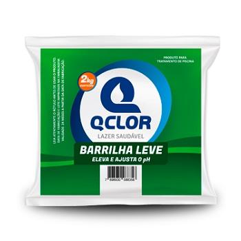 Barrilha Leve para Piscina 2kg Eleva e Ajusta PH - Ref.PA010069 - QCLOR