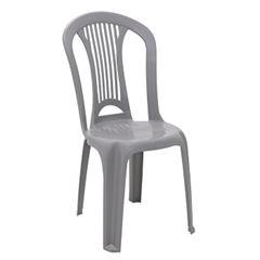 Cadeira Plástica Atlântida Cinza - Ref.92013/210 - TRAMONTINA