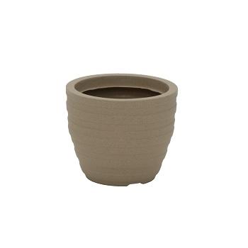 Vaso Plástico 24cm Inca Areia - Ref.92764/000 - TRAMONTINA