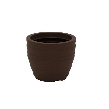 Vaso Plástico 24cm Inca Terracota - Ref.92764/109 - TRAMONTINA