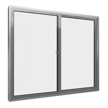 Janela de Alumínio 2 Folhas Vidro Liso 80x80cm MCJCNTL008 - Ref.ELB004002 - QUALITY