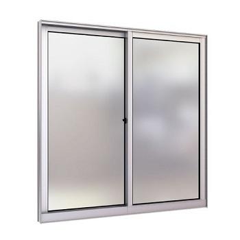 Janela de Alumínio 2 Folhas Vidro Liso 100x80cm FNJCL - Ref. FRN028008 - FREEDOM