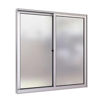 Janela de Alumínio 2 Folhas Vidro Liso 100x100cm FNJCL - Ref. FRN028009 - FREEDOM