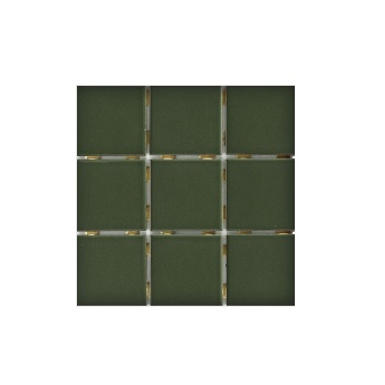 Revestimento 10X10 Lux Musgo Brilho Tipo A - Ref.01010001001323 - ELIZABETH