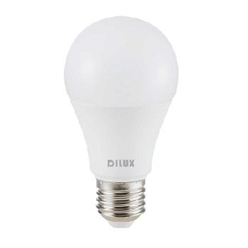 Lâmpada LED Bulbo 15W A65 E27 Bivolt 6500K Branco Frio - Ref. DI73759 - DILUX