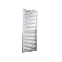 Porta de Alumínio Veneziana Lado Esquerdo 70x210cm FNPV - Ref.FRN029004 - FREEDOM