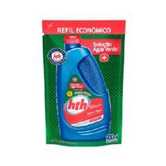 Algicida Refil para Piscina Solução Água Verde 900ml - Ref.75317 - HTH