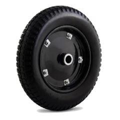 Roda Poliuretano Maciço para Carrinhos 300-8 com Bucha e Rolete - Ref.4818 - COLSON