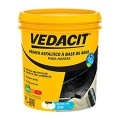 Primer Asfaltico 3,6L  Eco Preto Ref.121833 - Vedacit