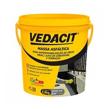 Massa Betuminosa Asfáltica 3,9kg - Ref.121784 - VEDACIT