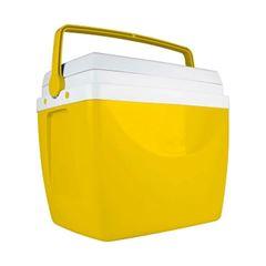 Caixa Térmica em Polipropileno 34 Litros Amarela - Ref.25108165 - MOR