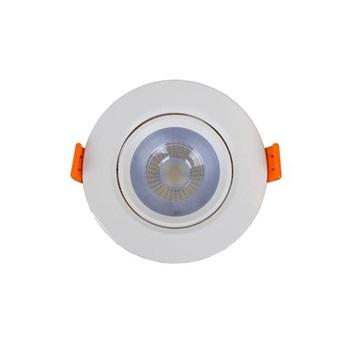 Spot LED em ABS 3w Bivolt de Embutir Easy Redondo 6500k - Ref.YQ086036BCDEAV2 - BRONZEARTE