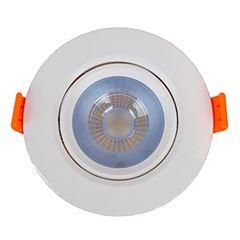 Spot LED em ABS 7w Bivolt de Embutir Easy Redondo 3000k - Ref.YQ086073BCDEAV2 - BRONZEARTE