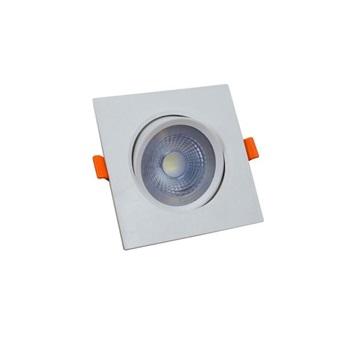 Spot Led em ABS 3w Bivolt de Embutir Easy Quadrado 6500k - Ref.YQ093036BCDEAV2 - BRONZEARTE