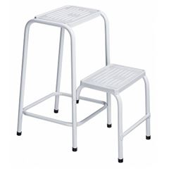 Banqueta de Aço Escada Branco - Ref.Ep300 - UTIMIL